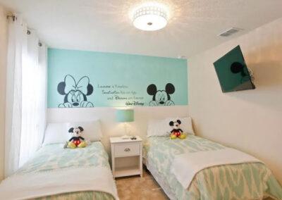 Bedroom #5 at Veranda Palms 10, Kissimmee