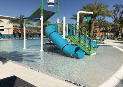 The water slides at Veranda Palms, Kissimmee