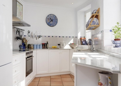 The kitchen at Villa Agnes, Frigiliana