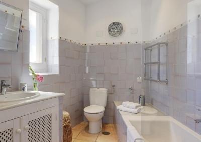 Bedroom #2 en-suite at Villa Agnes, Frigiliana