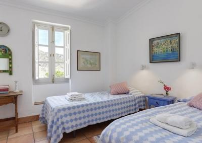 Bedroom #4 at Villa Agnes, Frigiliana