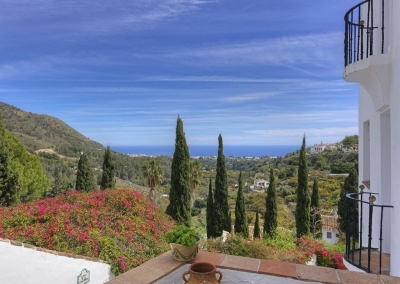 The magnificent view from Villa Agnes, Frigiliana