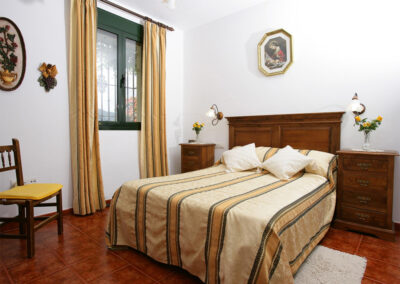 Bedroom #1 at Villa Alaju, El Gastor