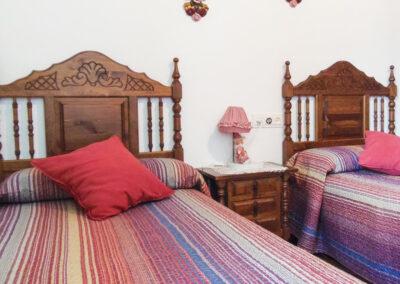Bedroom #2 at Villa Alaju, El Gastor