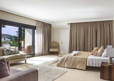 Bedroom #1 at Villa Alandalus, Nueva Andalucía