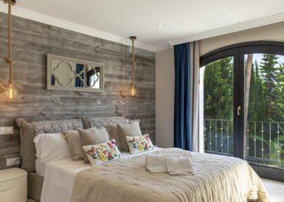 Bedroom #2 at Villa Alandalus, Nueva Andalucía