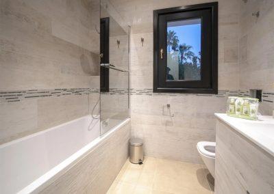 Bedroom #6 en-suite at Villa Alandalus, Nueva Andalucía