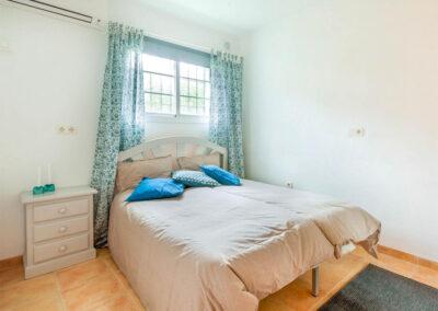 Bedroom #1 at Villa Albaricoque, Nerja