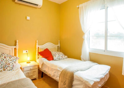 Bedroom #2 at Villa Albaricoque, Nerja