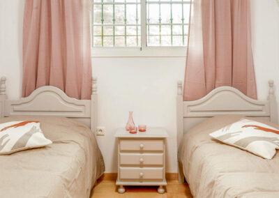 Bedroom #3 at Villa Albaricoque, Nerja