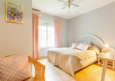 Bedroom #4 at Villa Albaricoque, Nerja