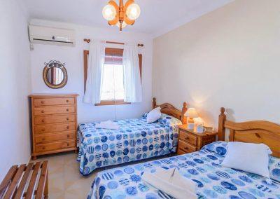 Bedroom #2 at Villa Angelinas, Nerja