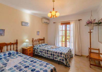 Bedroom #3 at Villa Angelinas, Nerja