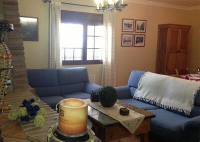 The living area at Villa Antisa, Villanueva de la Concepción