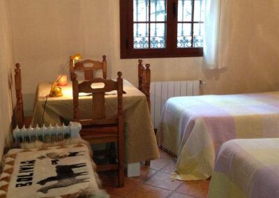 Bedroom #2 at Villa Antisa, Villanueva de la Concepción