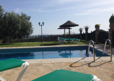 The swimming pool at Villa Antisa, Villanueva de la Concepción
