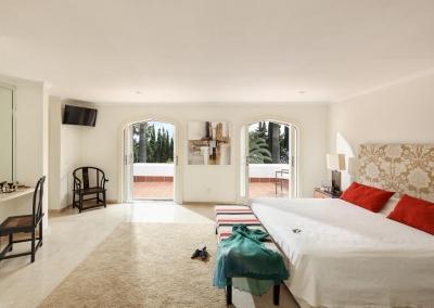 Bedroom #1 at Villa Atalaya, Nueva Andalucía