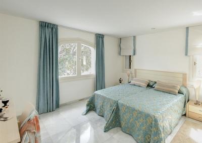 Bedroom #2 at Villa Atalaya, Nueva Andalucía