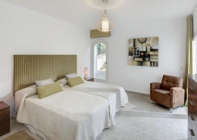 Bedroom #5 in the guesthouse at Villa Atalaya, Nueva Andalucía