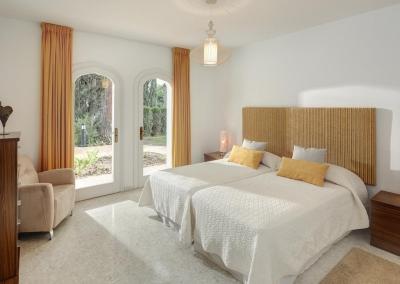 Bedroom #6 in the guesthouse at Villa Atalaya, Nueva Andalucía