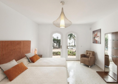 Bedroom #7 in the guesthouse at Villa Atalaya, Nueva Andalucía