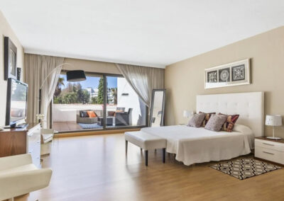 Bedroom #1 at Villa Calendula, Nueva Andalucía