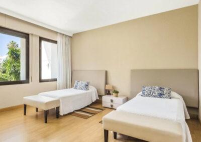 Bedroom #4 at Villa Calendula, Nueva Andalucía