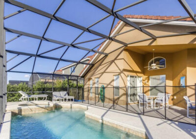 The swimming pool at Villa Carter, Aviana Resort, Davenport, Florida
