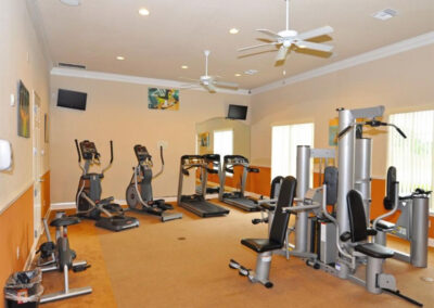 The fitness centra at Aviana Resort, Davenport, Florida