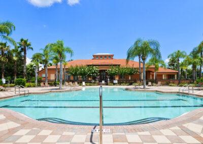 The resort swimming pool at Aviana Resort, Davenport, Florida