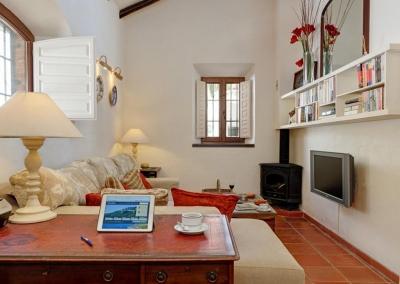 The second living area at Villa Casanova, Nerja
