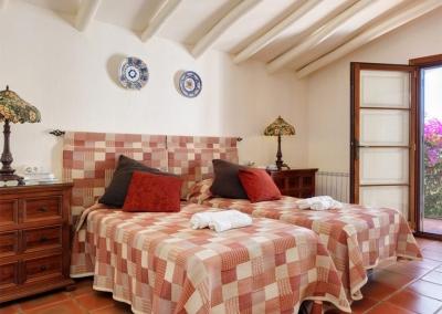 Bedroom #1 at Villa Casanova, Nerja