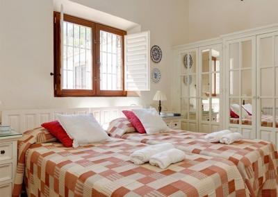 Bedroom #2 at Villa Casanova, Nerja