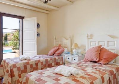 Bedroom #3 at Villa Casanova, Nerja