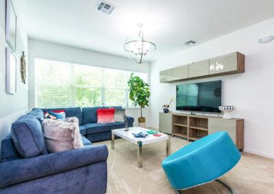 The first floor living area at Villa Emeline, Bella Vida Resort, Kissimmee