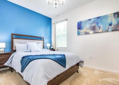 Bedroom #1 at Villa Emeline, Bella Vida Resort, Kissimmee