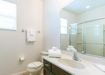 Bedroom #1 en-suite at Villa Emeline, Bella Vida Resort, Kissimmee