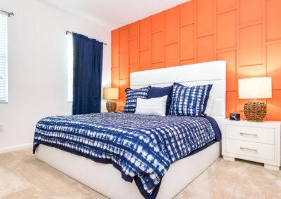 Bedroom #2 at Villa Emeline, Bella Vida Resort, Kissimmee