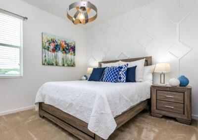 Bedroom #3 at Villa Emeline, Bella Vida Resort, Kissimmee