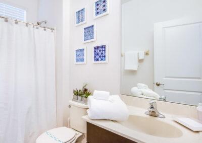 Bedroom #3 en-suite at Villa Emeline, Bella Vida Resort, Kissimmee