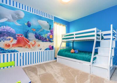 Bedroom #7 at Villa Emeline, Bella Vida Resort, Kissimmee