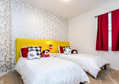 Bedroom #8 at Villa Emeline, Bella Vida Resort, Kissimmee