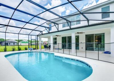 The swimming pool at Villa Emeline, Bella Vida Resort, Kissimmee