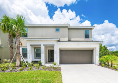 Villa Emeline, Bella Vida Resort, Kissimmee is an eight bedroom, five bathroom villa with two living areas, designer decor & private pool backing onto green space. Large resort pool, sports courts, gym & walking trails - just eight miles from Disney, golf & Old Town shops.