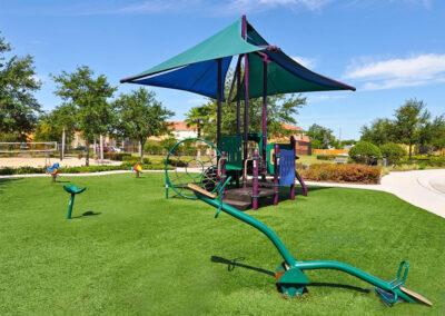 The children's play area at Bella Vida Resort, Kissimmee