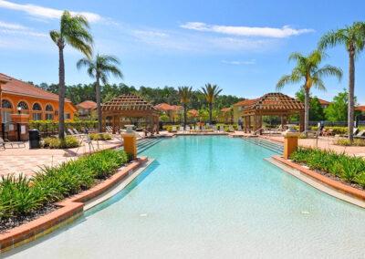 The resort swimming pool at Bella Vida Resort, Kissimmee