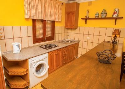 The kitchen at Villa Lara, Frigiliana
