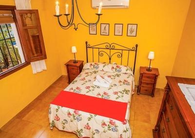 Bedroom #2 at Villa Lara, Frigiliana