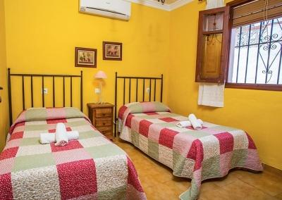 Bedroom #3 at Villa Lara, Frigiliana