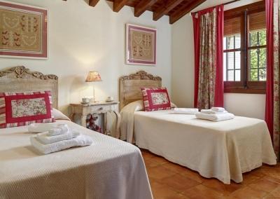 Bedroom #2 at Villa Loli, Frigiliana